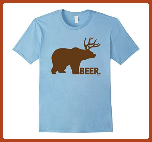 Bear Plus Deer Beer T Shirt