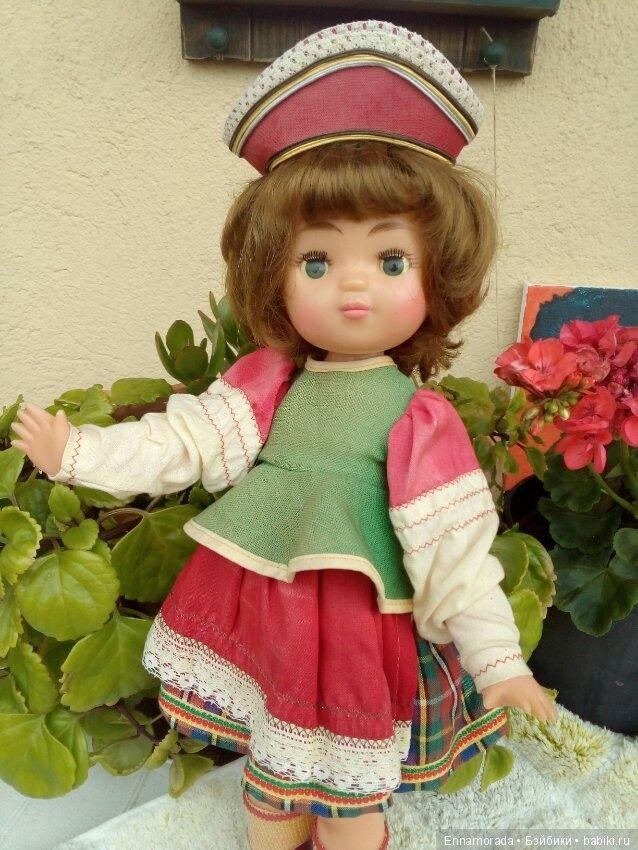 Кукла СССР,Москвичка Московская фабрика игрушек 8 марта ...