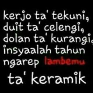 Bahasa Jawanya Lucu
