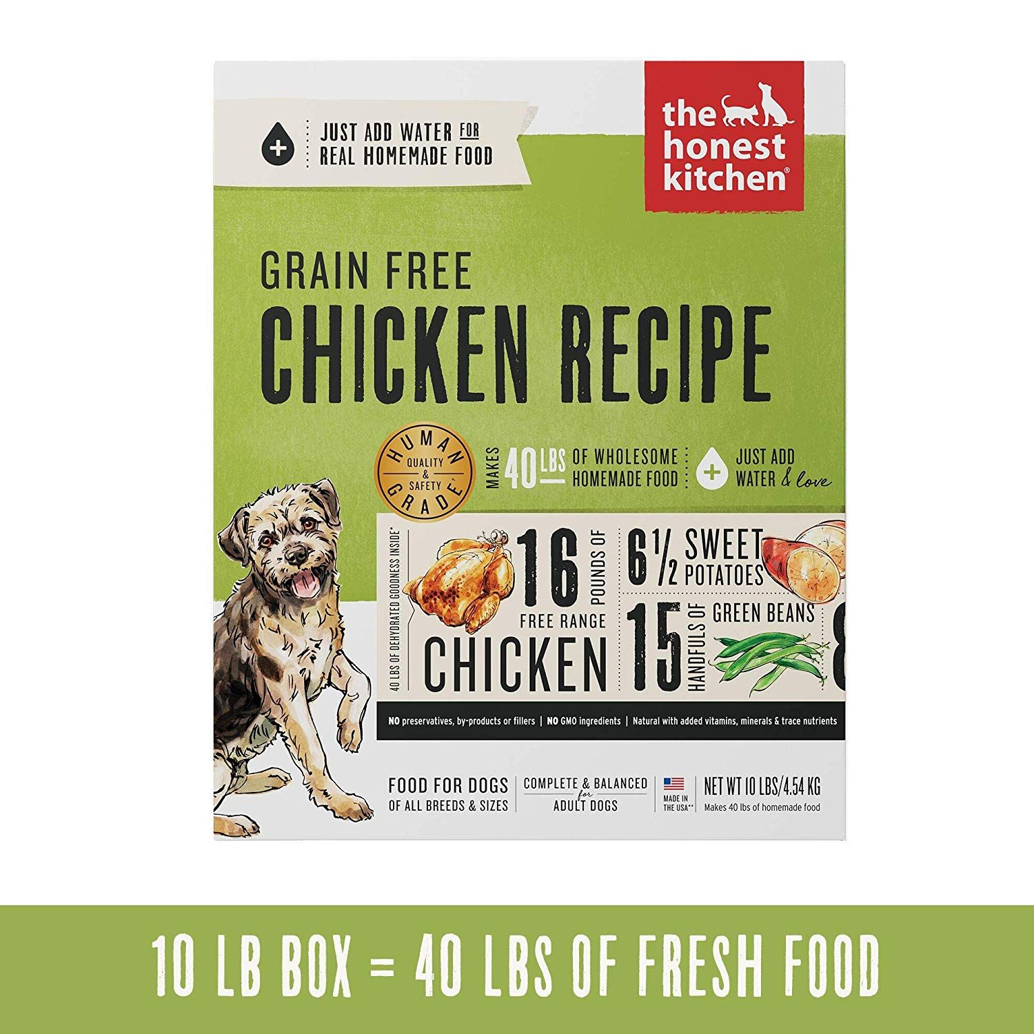 Grain Free This Healthy Dog Food Is Made With Free Range Chicken