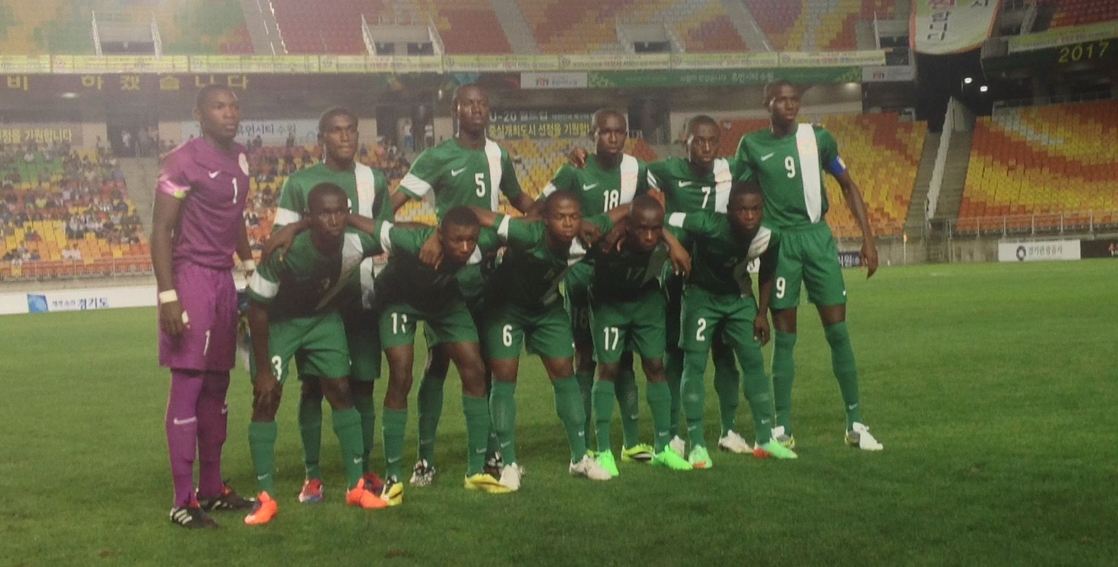 SportsDezk's blog.: 9jaNews:Golden Eaglets clash with Racing Club