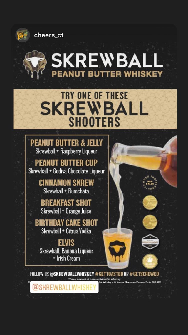 Photo of Peanut butter whiskey –  #Screwball #whiskey  – #Beer #butter #CraftBeeer   Pean…