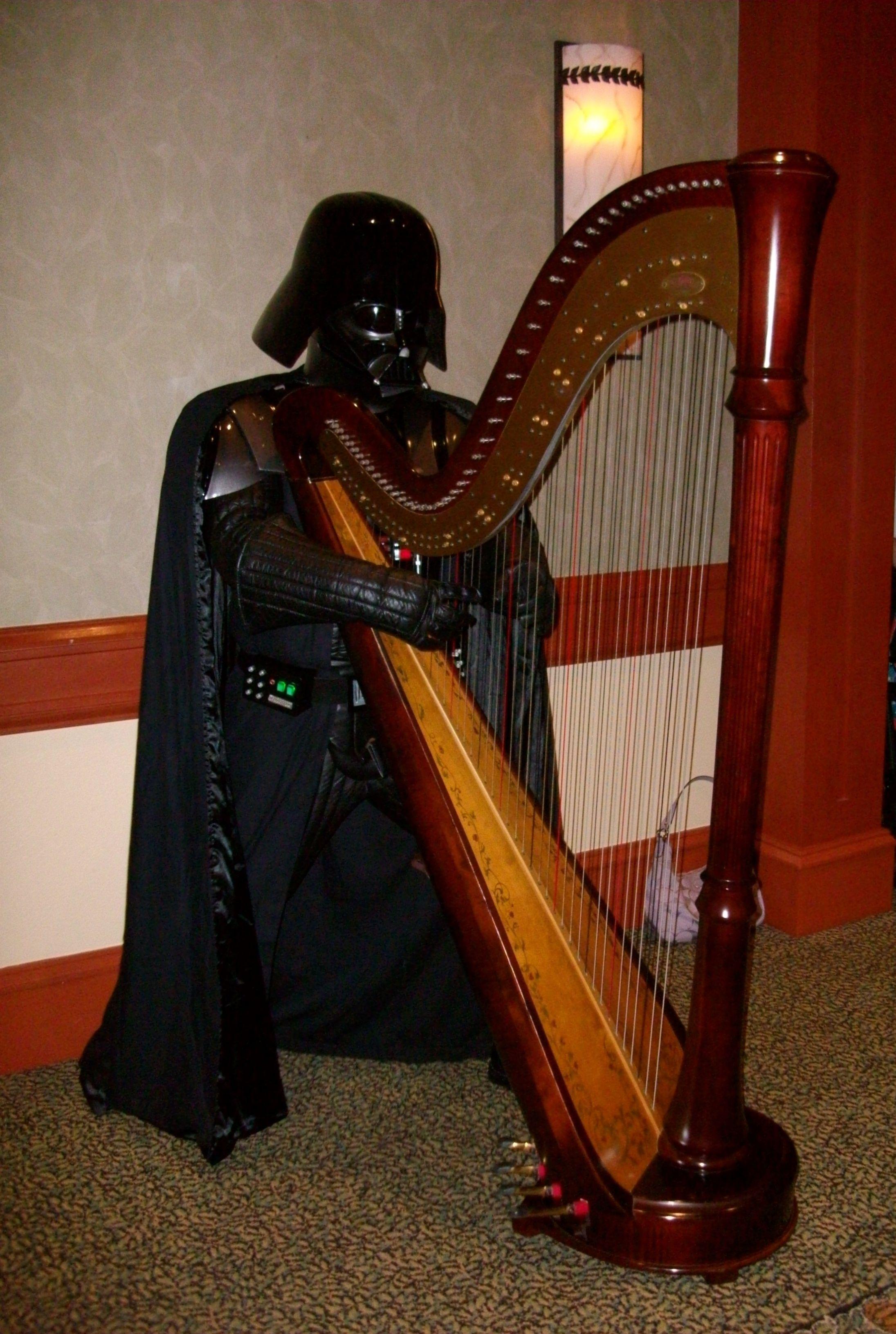 star wars music! click on this darth vader pin to hear cantina band