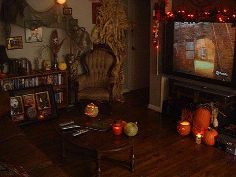 halloween living room - Halloween Room
