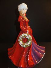 Royal Doulton Holiday Greetings Christmas Figure of Year 2013 HN5583 New In Box