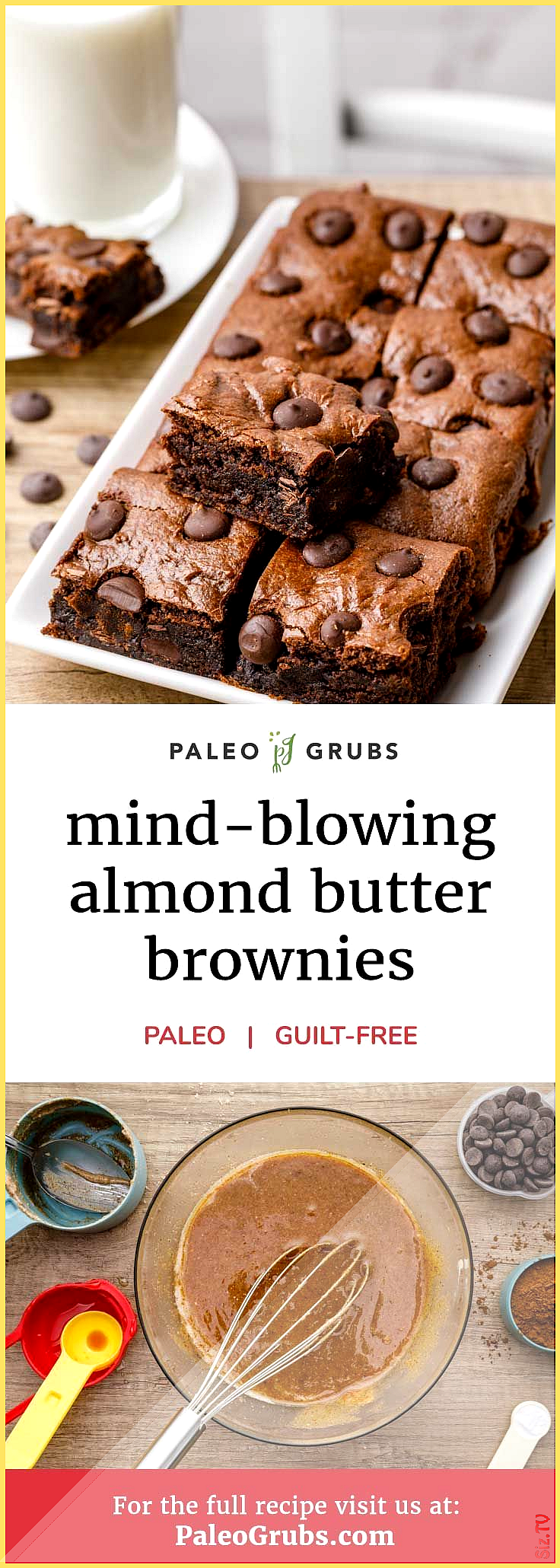 Mind-Blowing Almond Butter Brownies Moist and Fudgy Mind-Blowing Almond Butter Brownies Moist and F