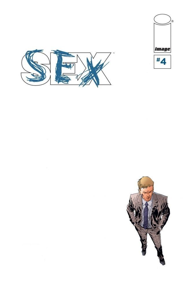 Sex #4 Simon Cooke might be having a tough time adjusting to civilian life, but Saturn City is having just as much trouble adjusting to life without its hero! Meanwhile, the infamous Prank Addict is making romantic overtures! There's plenty of dramatic angst to go around, and the tension is rising. Remember: SEX is worth every penny you spend on it!