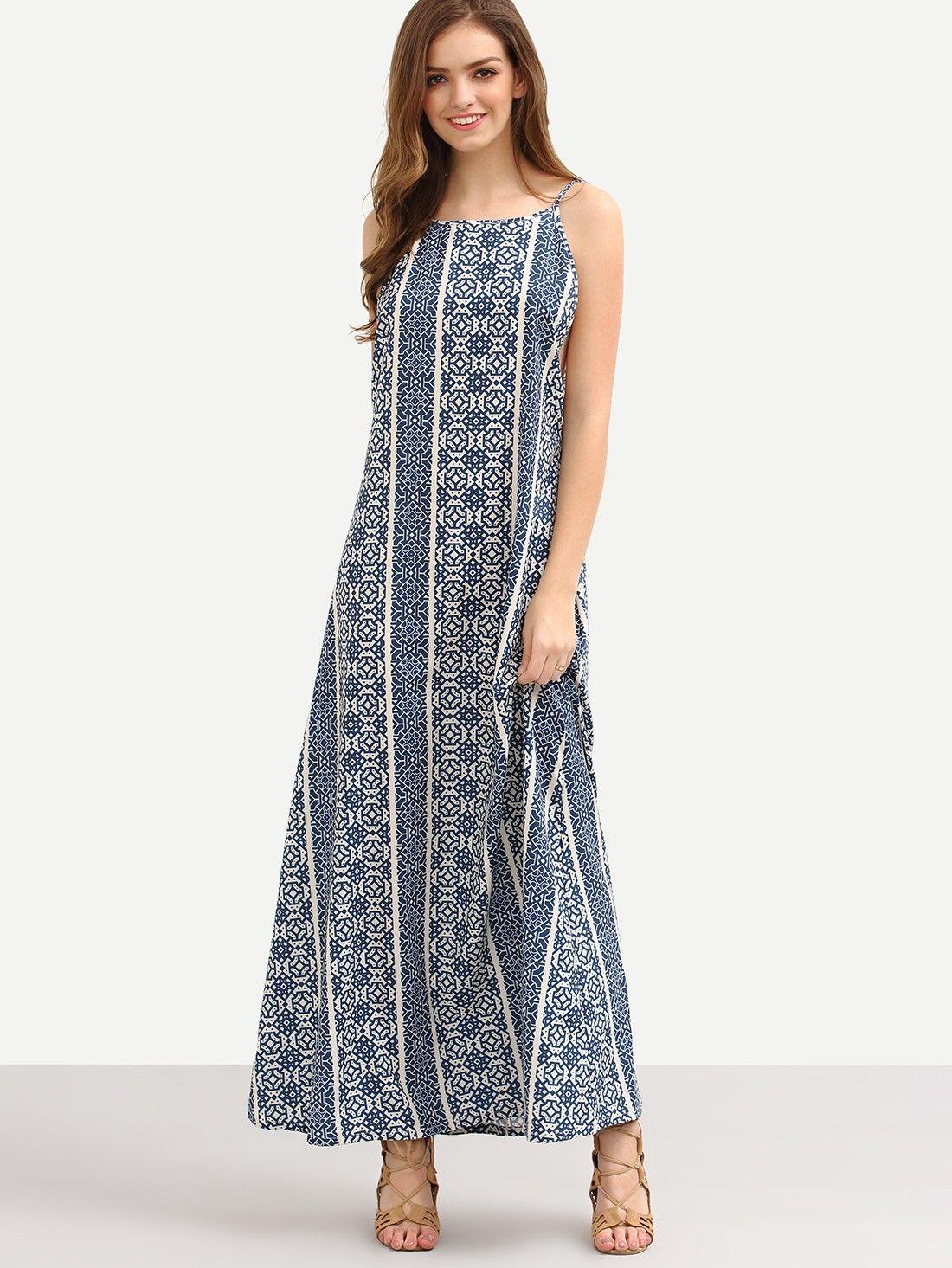 Kleid mit Druck 2017 bunt | Kleider 2017 | Pinterest