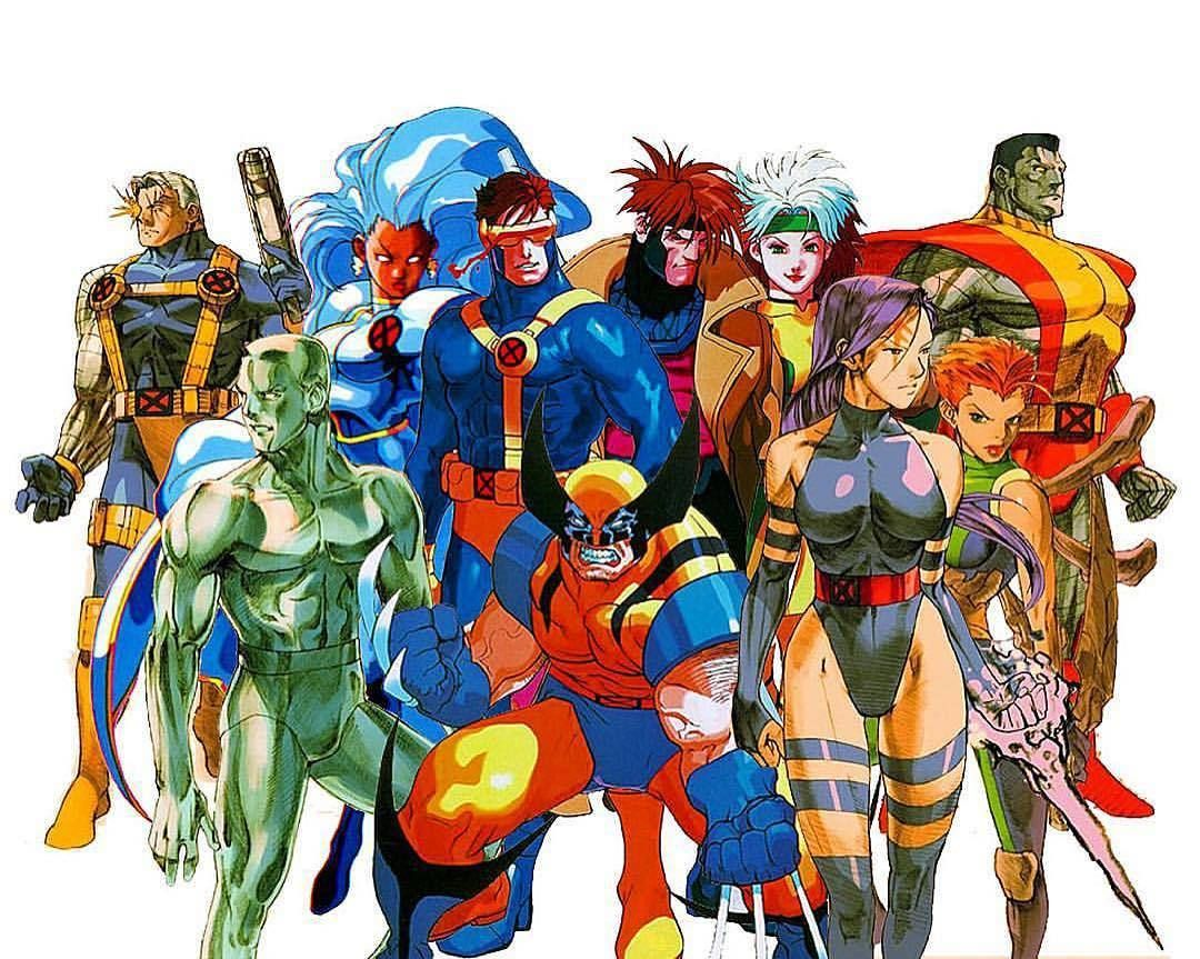 I Need This On My Ps4 Capcom Please Make It Happen Classic Capcom X Men V Street Fighter Download Im Marvel Comic Character Marvel Vs Capcom Comic Art