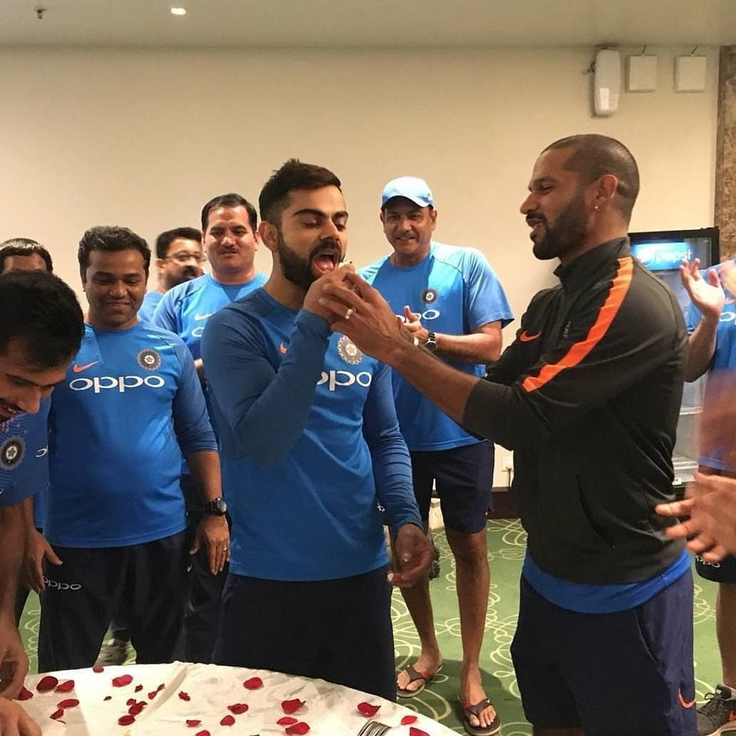 Wish you a very happy birthday bro.. have a grt one virat