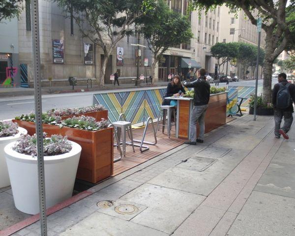 Spring Street Parklets, Berry & Linne, (Los Angeles, CA)