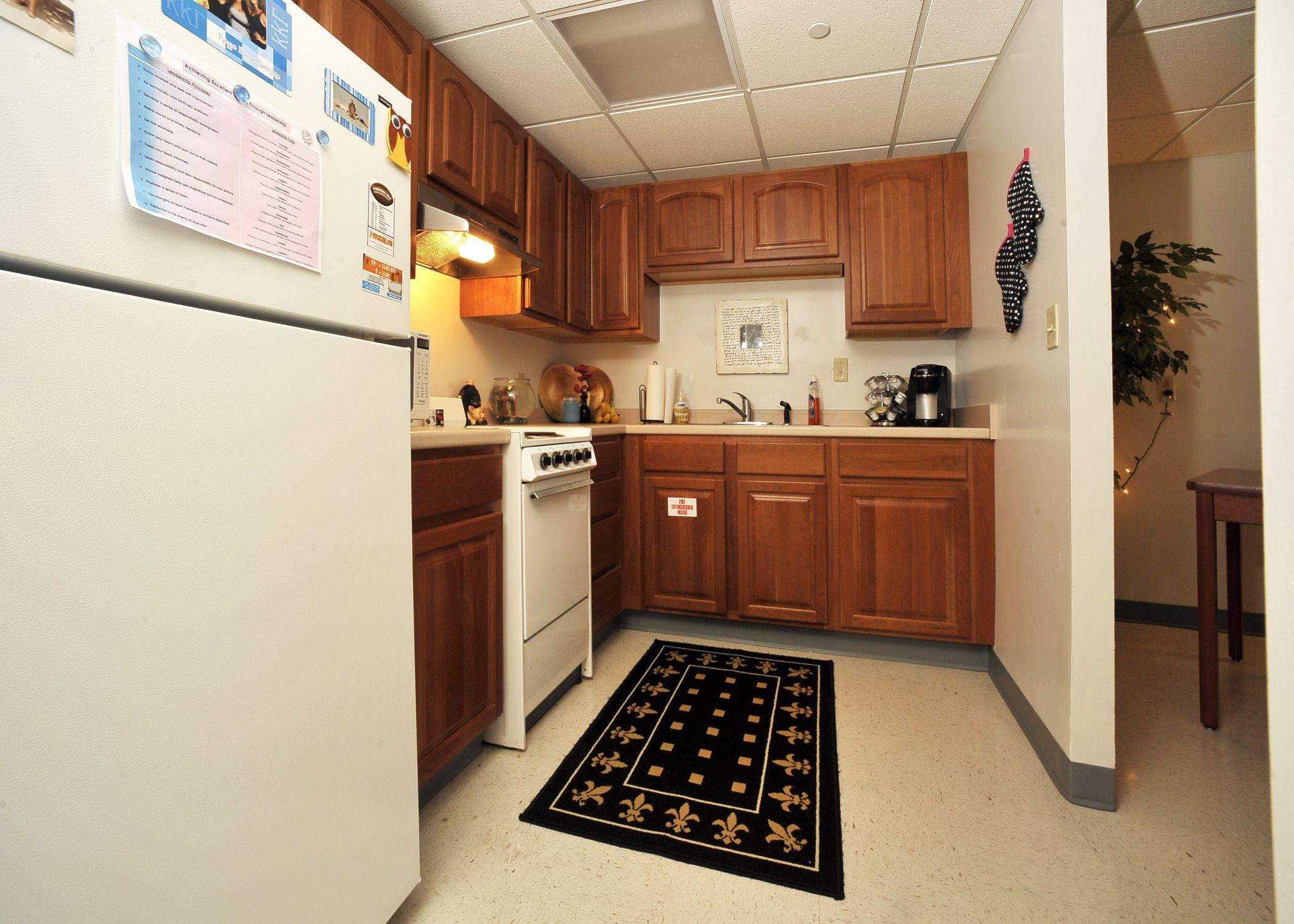 Kitchen Cabinets, Dorm Room