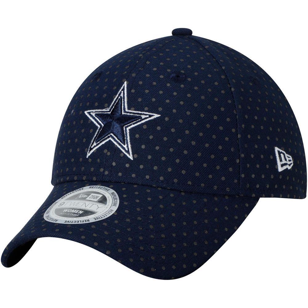 Dallas cowboys new era womens dotted shine 9twenty