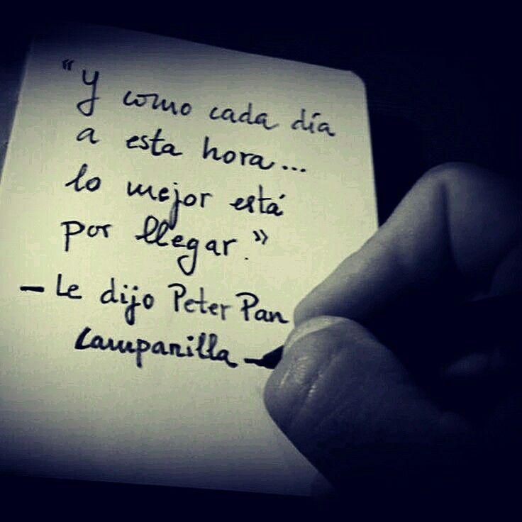 Le Dijo Peter Pan A Campanilla Frases Citas Frases Y