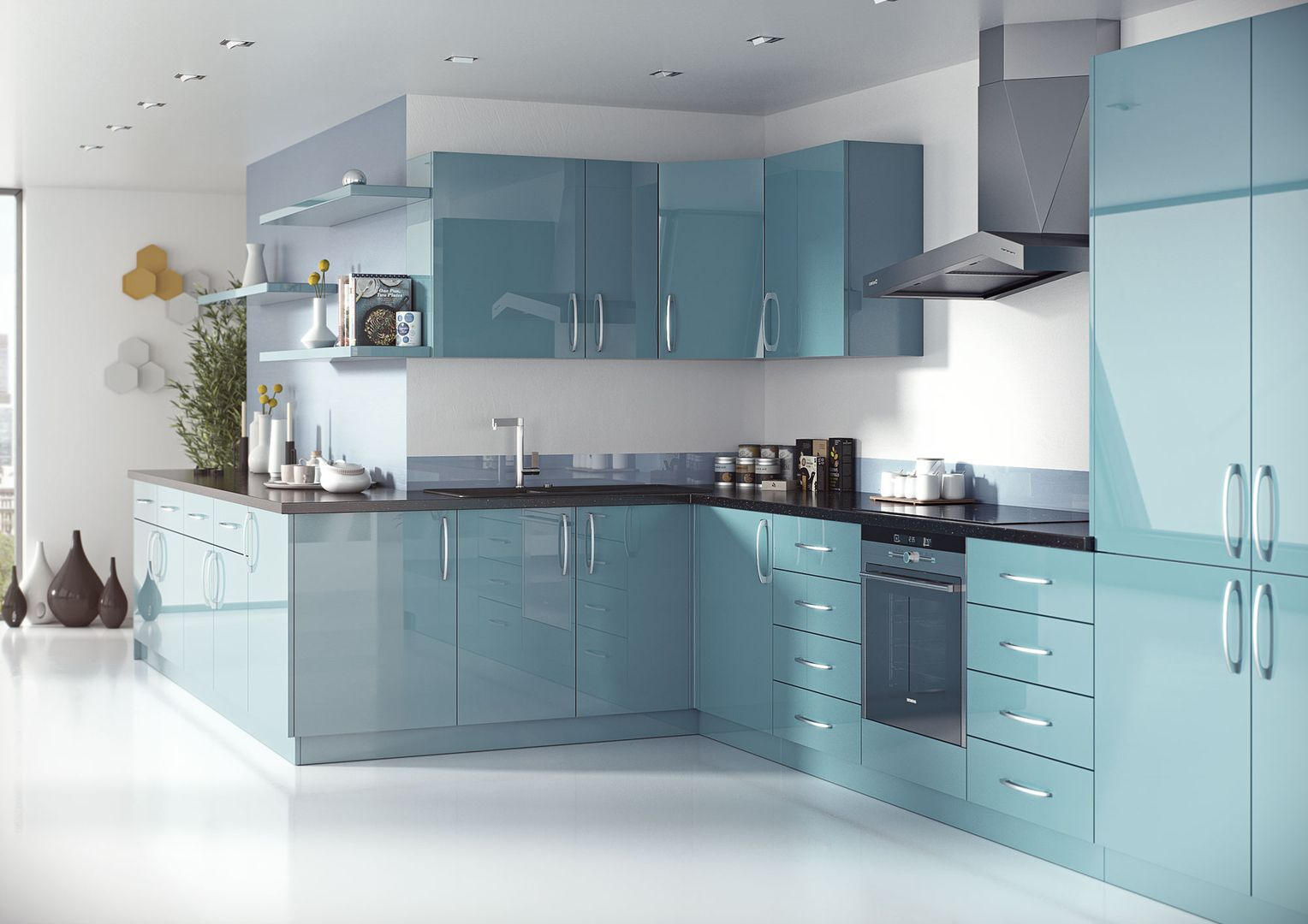 Esker Contemporary Kitchen Range | Wickes.co.uk | BW Kitchen ...