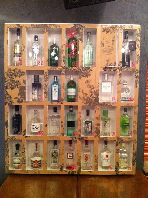Diy Whiskey Advent Calendar : Image result for liquor advent calendar gift ideas