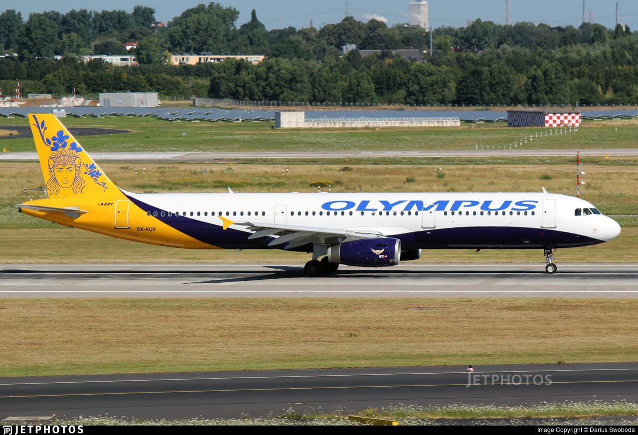 Airline Olympus Airways Registration SXACP Aircraft