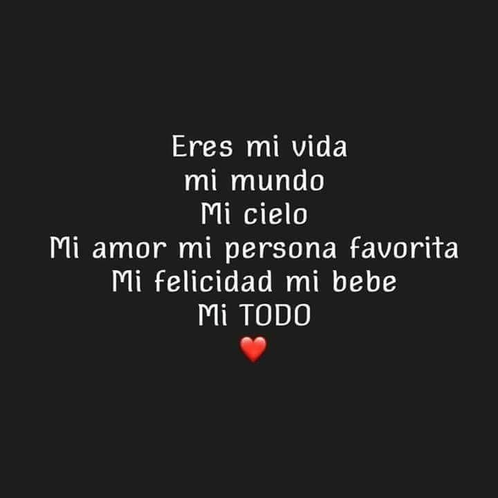 Eres Tu Mi Ninaaaa Te Amoooooooooooo Citas Amor Bonito Amor
