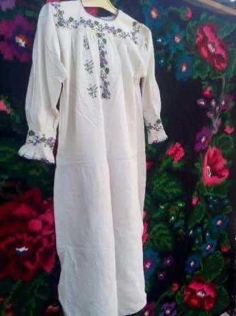 Женская старинная домотканная сорочка-ручная робота Кельменці - зображення 4 97535b105f726