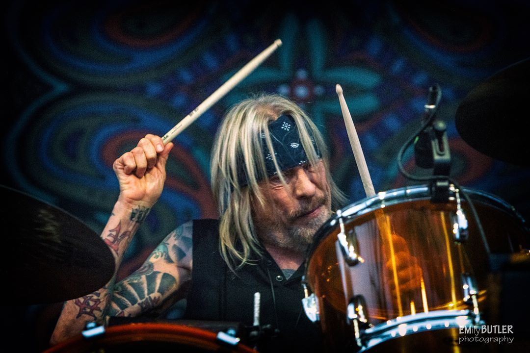 Matt Abts on the drums | Gov't mule, Drums, Warren haynes