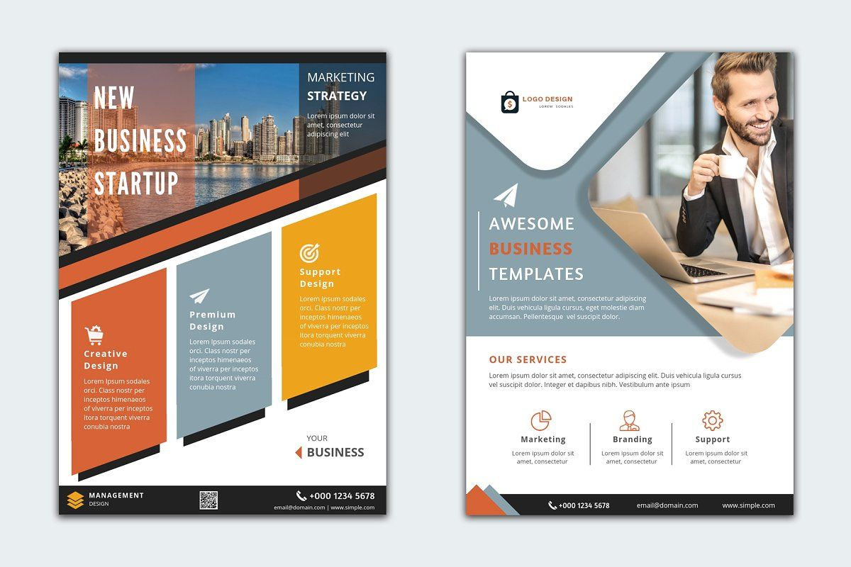 Canva business flyer templates business flyer templates