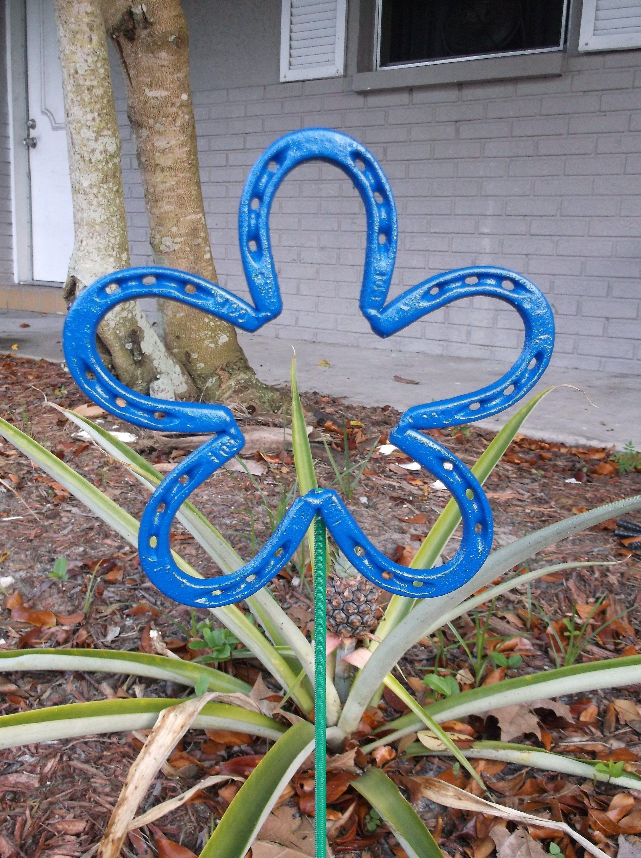 Sun Moon Garden Stake Garden Decor Garden Art Metal Art
