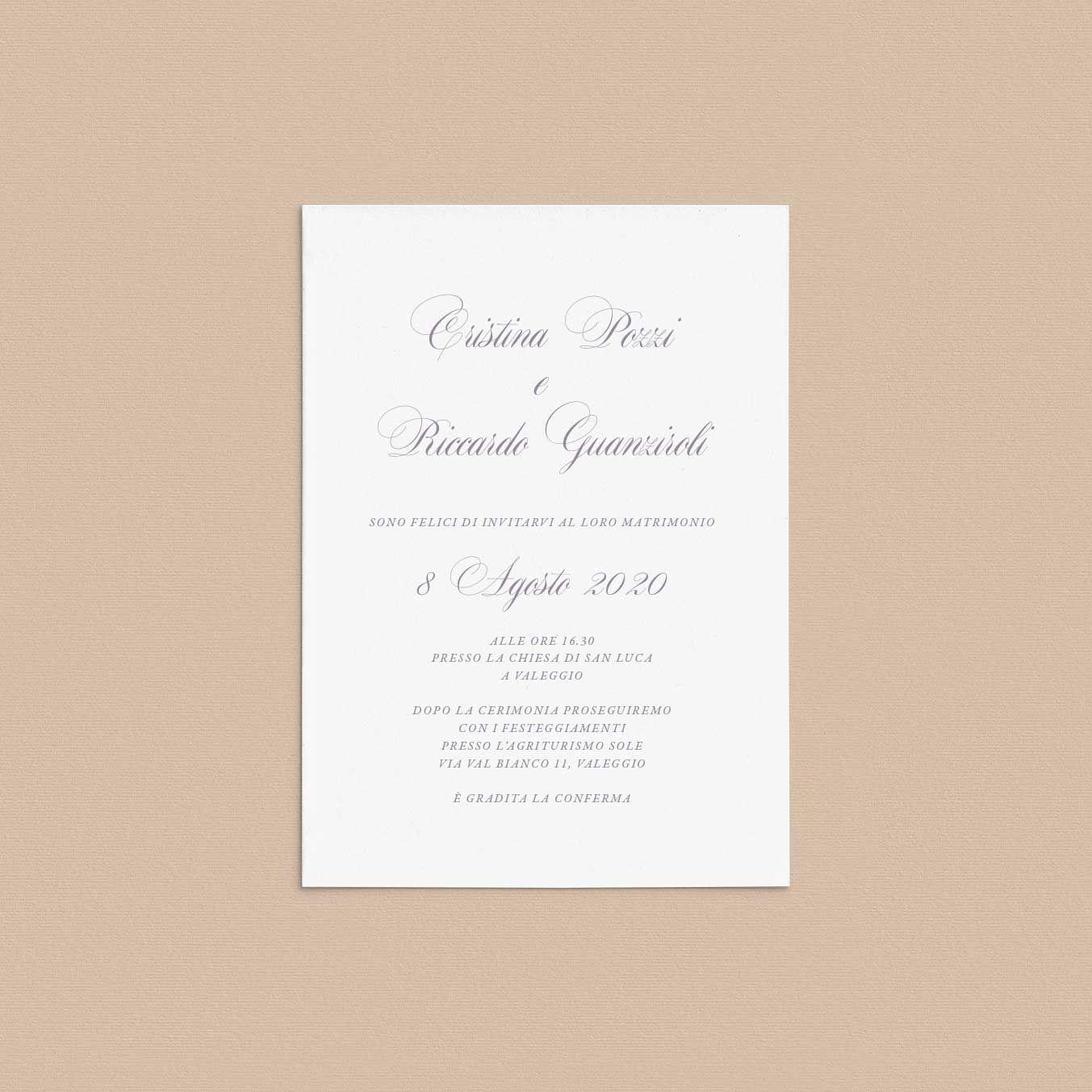 Partecipazioni Matrimonio Milano.Inviti Di Matrimonio Wedding Invitations Catalogo Online