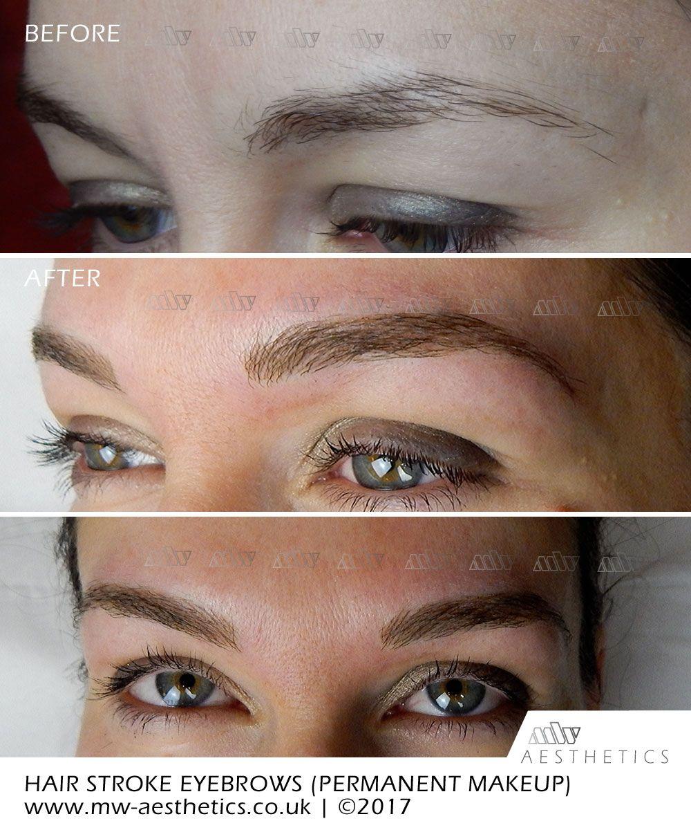 Permanent Eyebrows 3d Hairstrokes Permanent Makeup Eyebrows