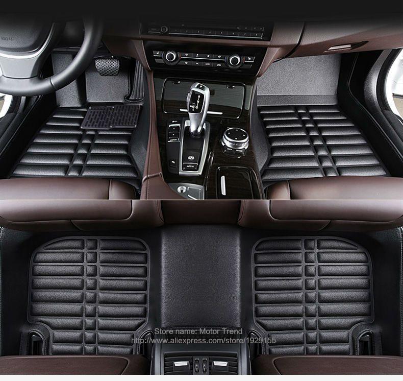 Custom Fit Full Cover Car Floor Mats For Audi A6 C5 C6 C7 A4 B6 B7 B8 Allroad Avant All Weather Waterproof Car Styling L Car Floor Mats Car Mats Waterproof