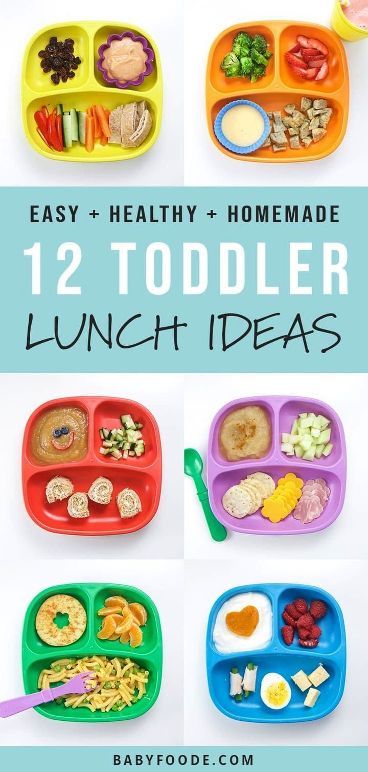 12 Healthy Toddler Lunches are healthy, fruit and veggie packed, balanced meals that will be devour