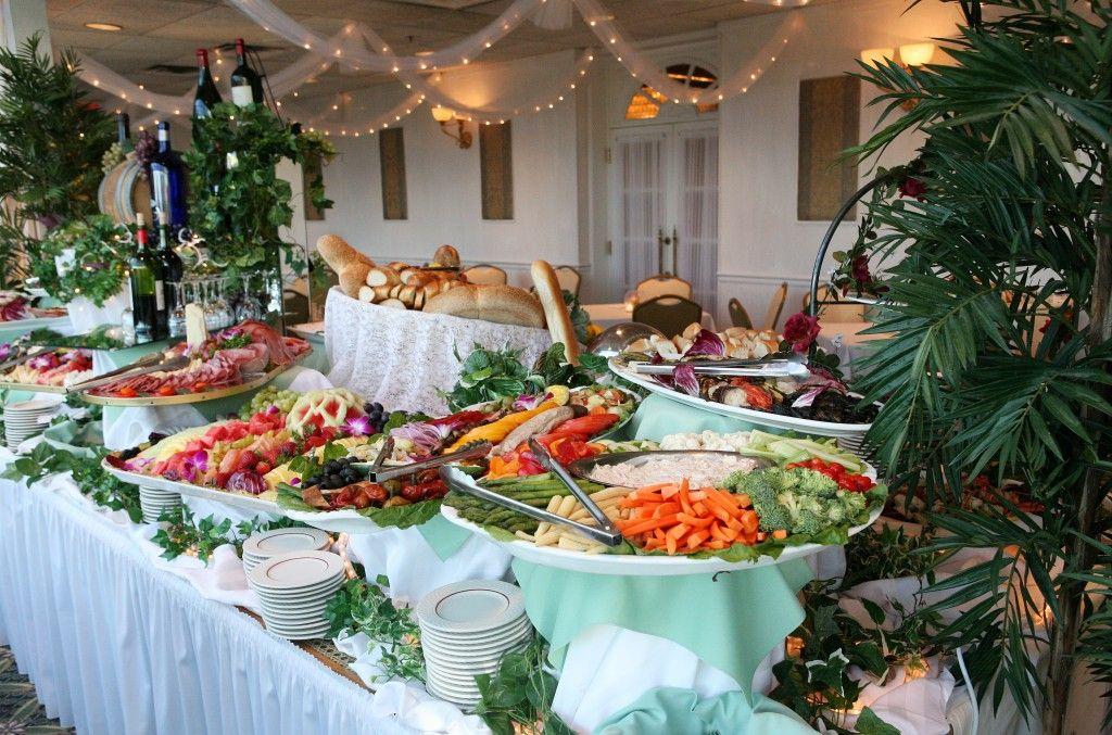 Buffet Table Ideas Wedding Reception: Shower Buffet ‹ The Graycliff
