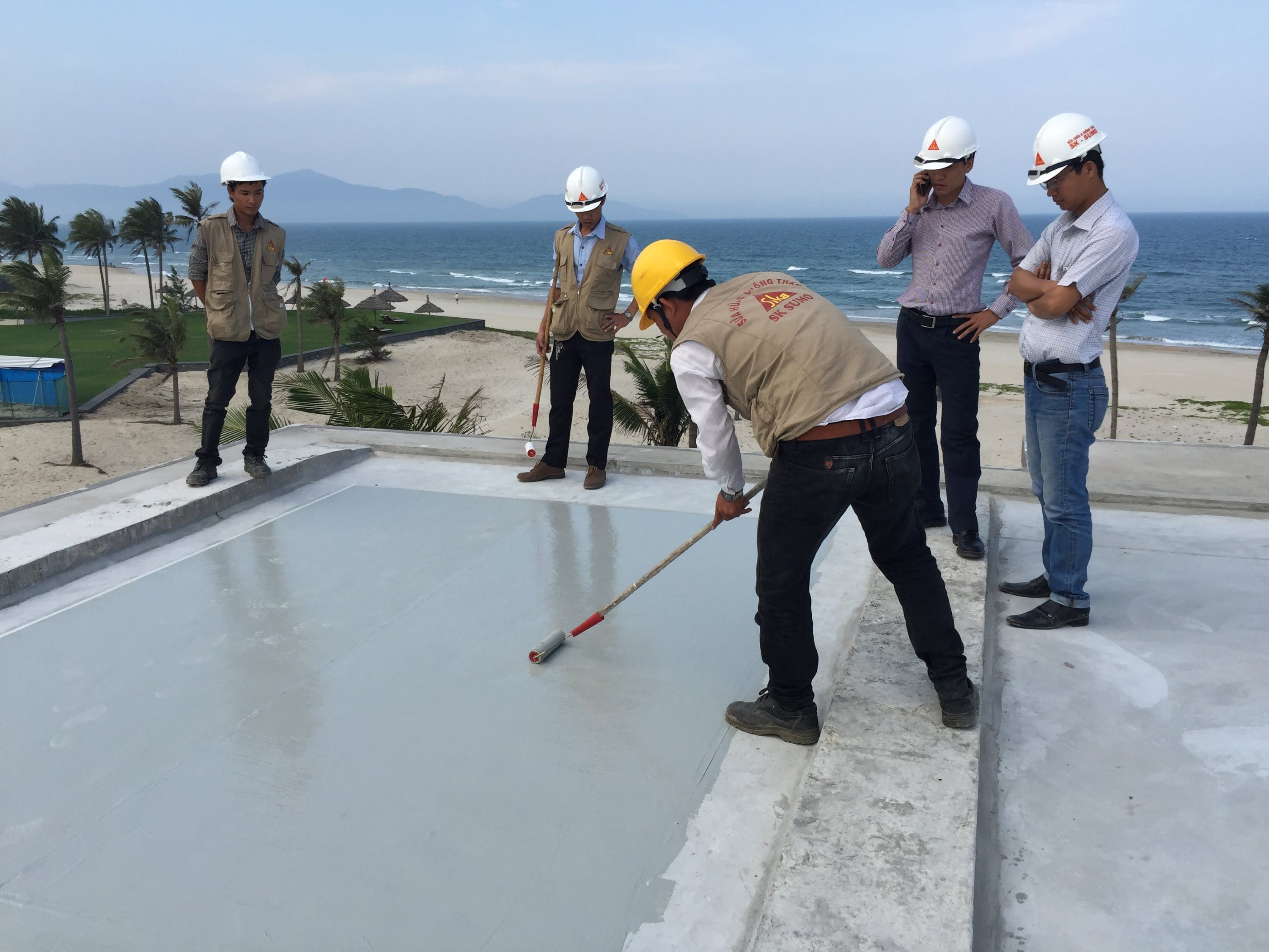 Sikalastic 632 Liquid Applied Membrane For Flat Roof Flat Roof Membrane Roof Liquid Roof