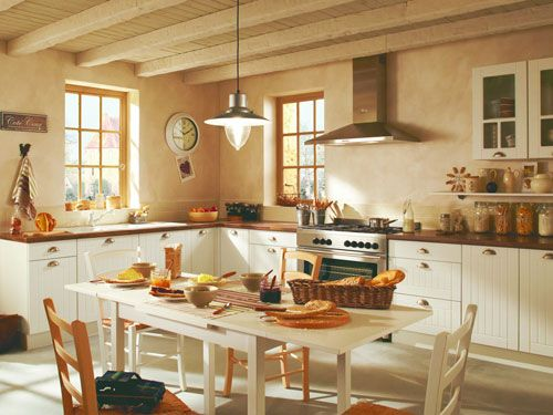 idée deco cuisine campagne chic | French provincial kitchen, French ...
