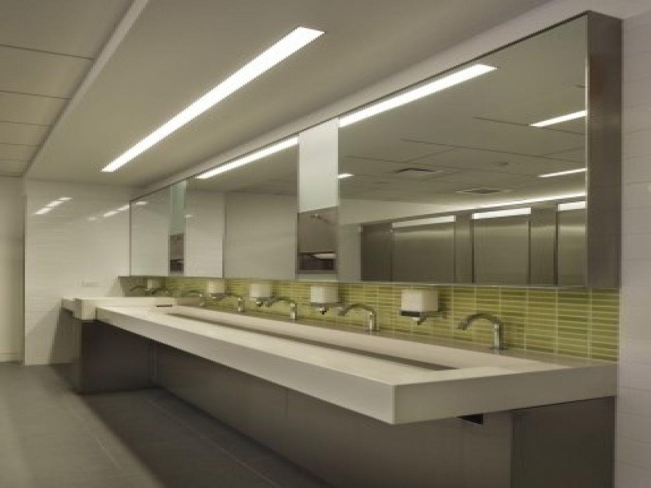 commercial bathroom light fixtures