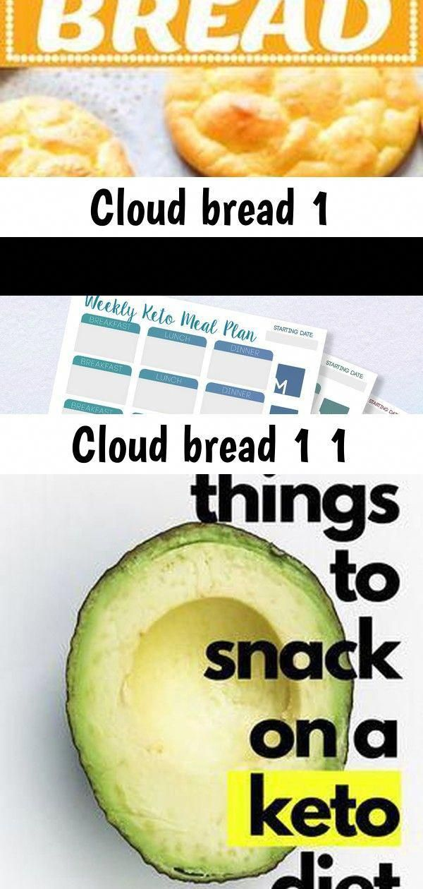 Cloud Bread #keto #recipes #easy #bread #lowcarb #baking This is the most simple meal planner printo...