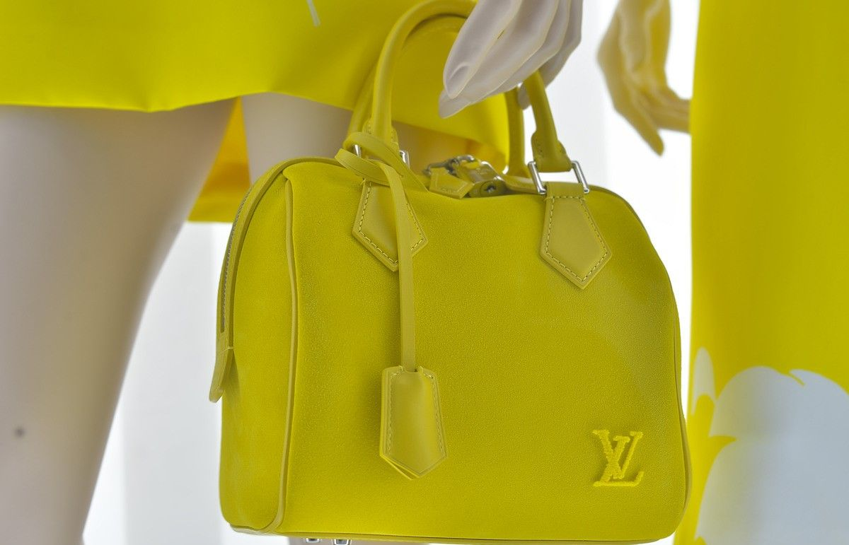Louis Vuitton window displays for May 2013