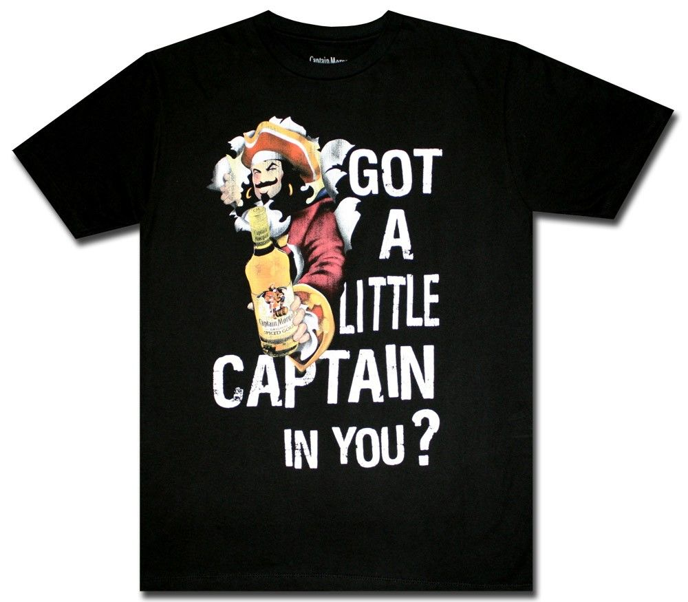 Captain Morgan Is There A Little Captain In You T Shirt