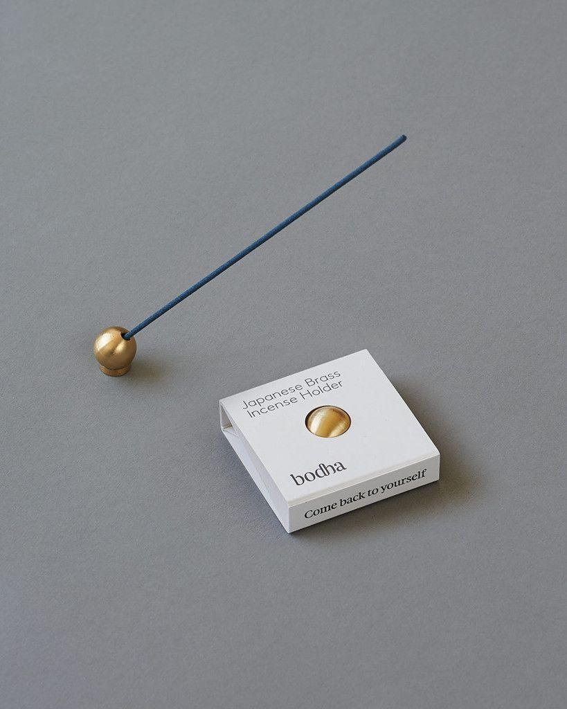 Bodha Japanese Brass Incense Holder Incense 香道 香水 香炉