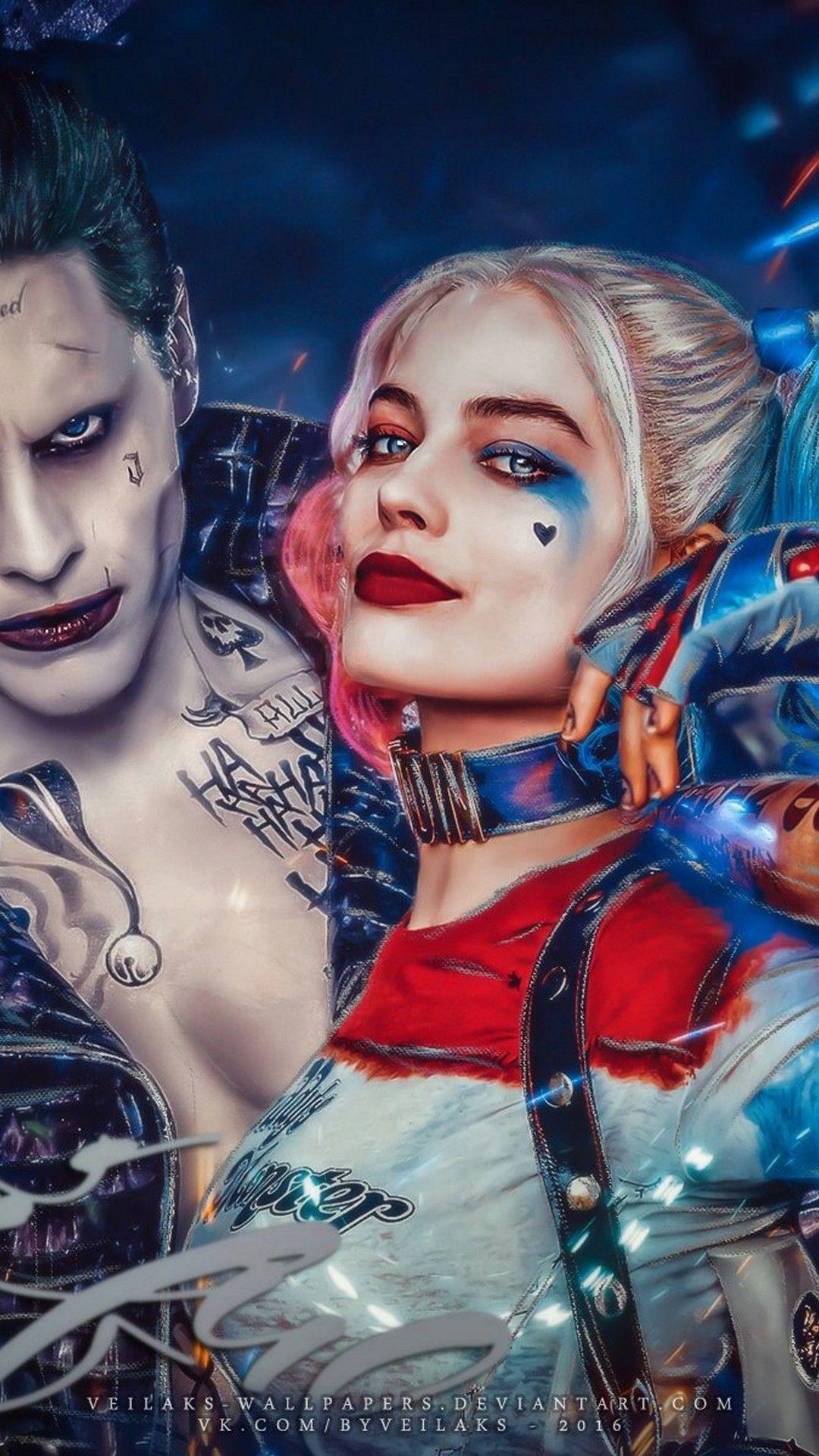 Harley Quinn Et Le Joker : harley, quinn, joker, Wallpaperscute