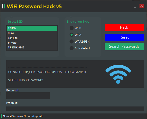 wifi password hack v5 free download for pc