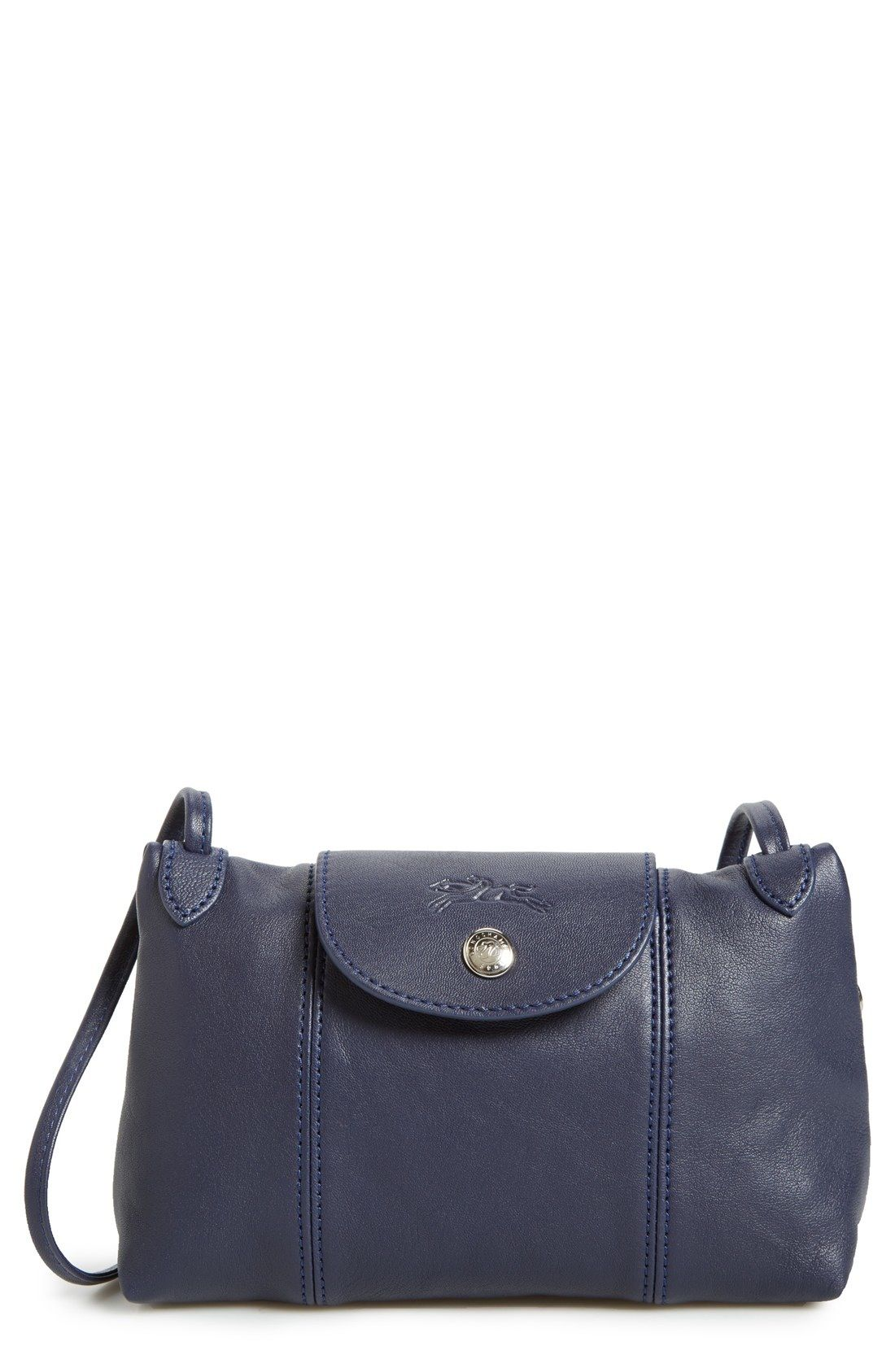 f0592c01d829 Longchamp  Le Pliage - Cuir  Crossbody Bag available at  Nordstrom ...