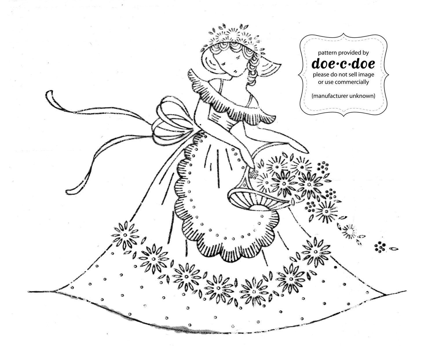 dama de época | embroidery | Pinterest | De época, Damas y Bordado