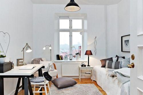 IKEA BAROMETER nickel-plated work lamp, VIKA AMON table top in white ...