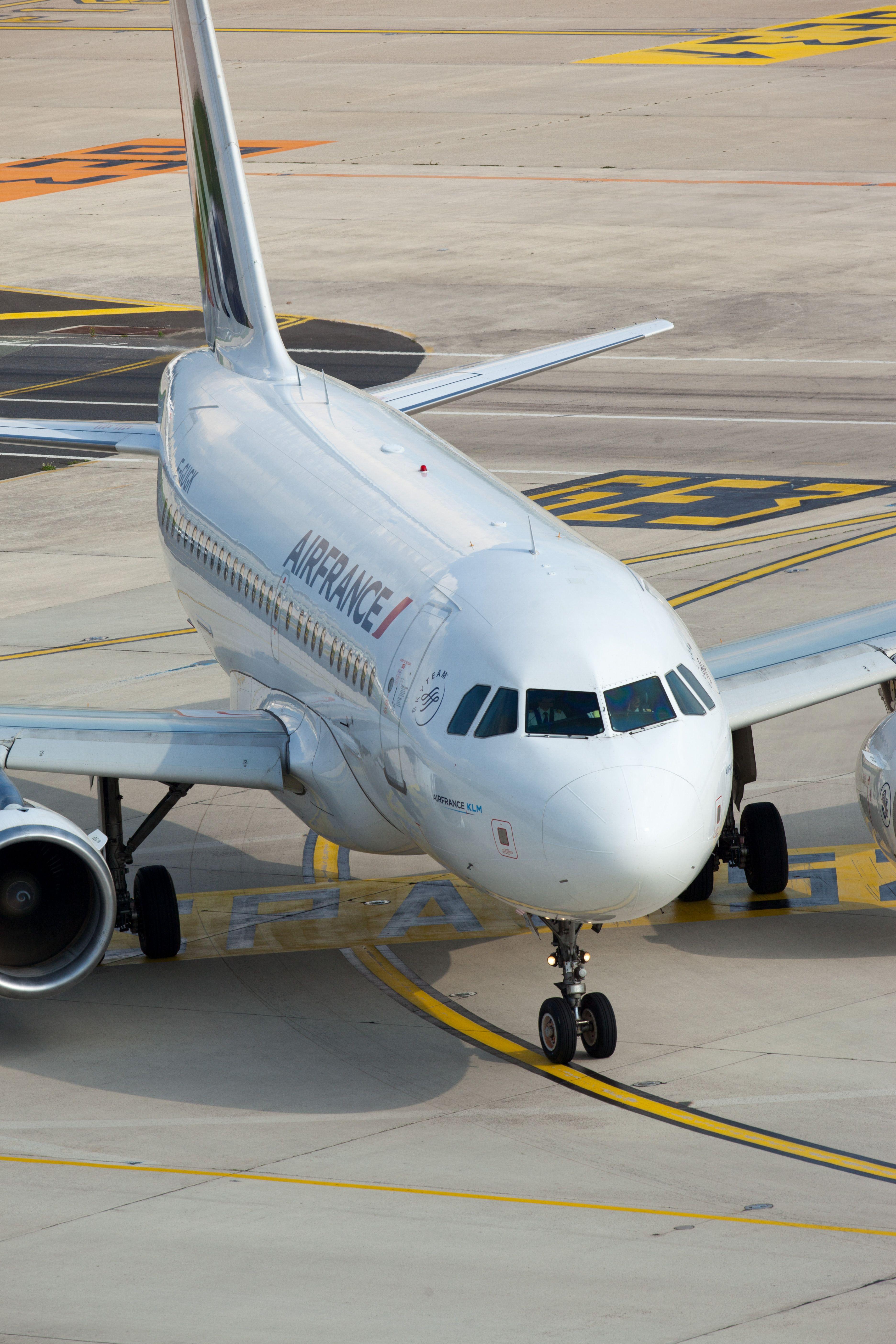 A318 A319 Air france, Avion de ligne, Compagnie aérienne
