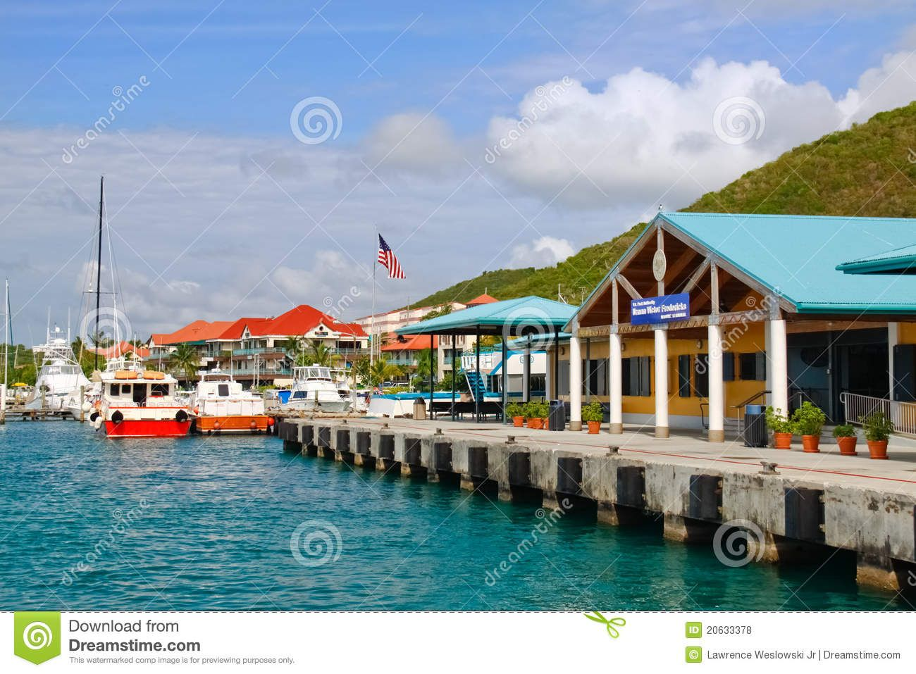 St. Thomas, USVI - Red Hook Ferry Terminal - Download From ...