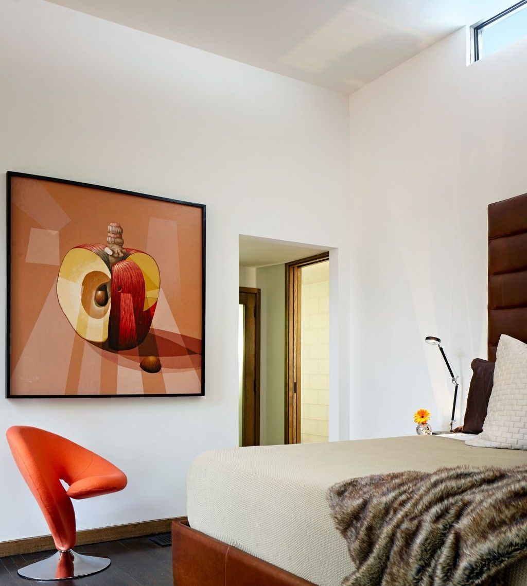 Eclectic Modern Orange Chairs And Contemporary Bedroom Design Ideas   Contemporary Eco Friendly Home Eclectic Modern Orange Chairs And Contemporary Bedroom Design  . Eco Friendly Home Bedroom Furniture. Home Design Ideas