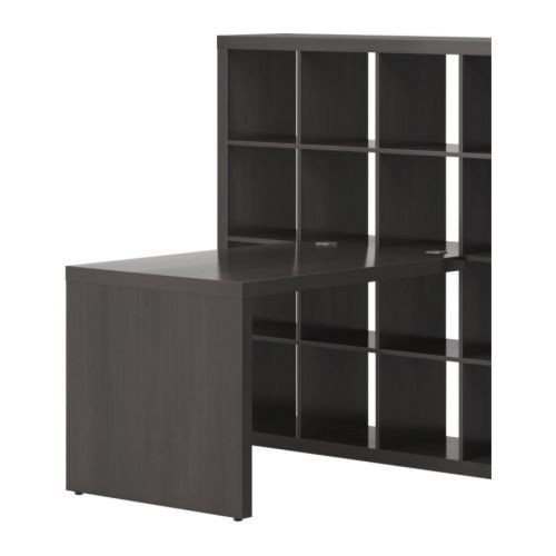 Beau Expedit Desk From Idea  Cubbies For Storage Boxes.