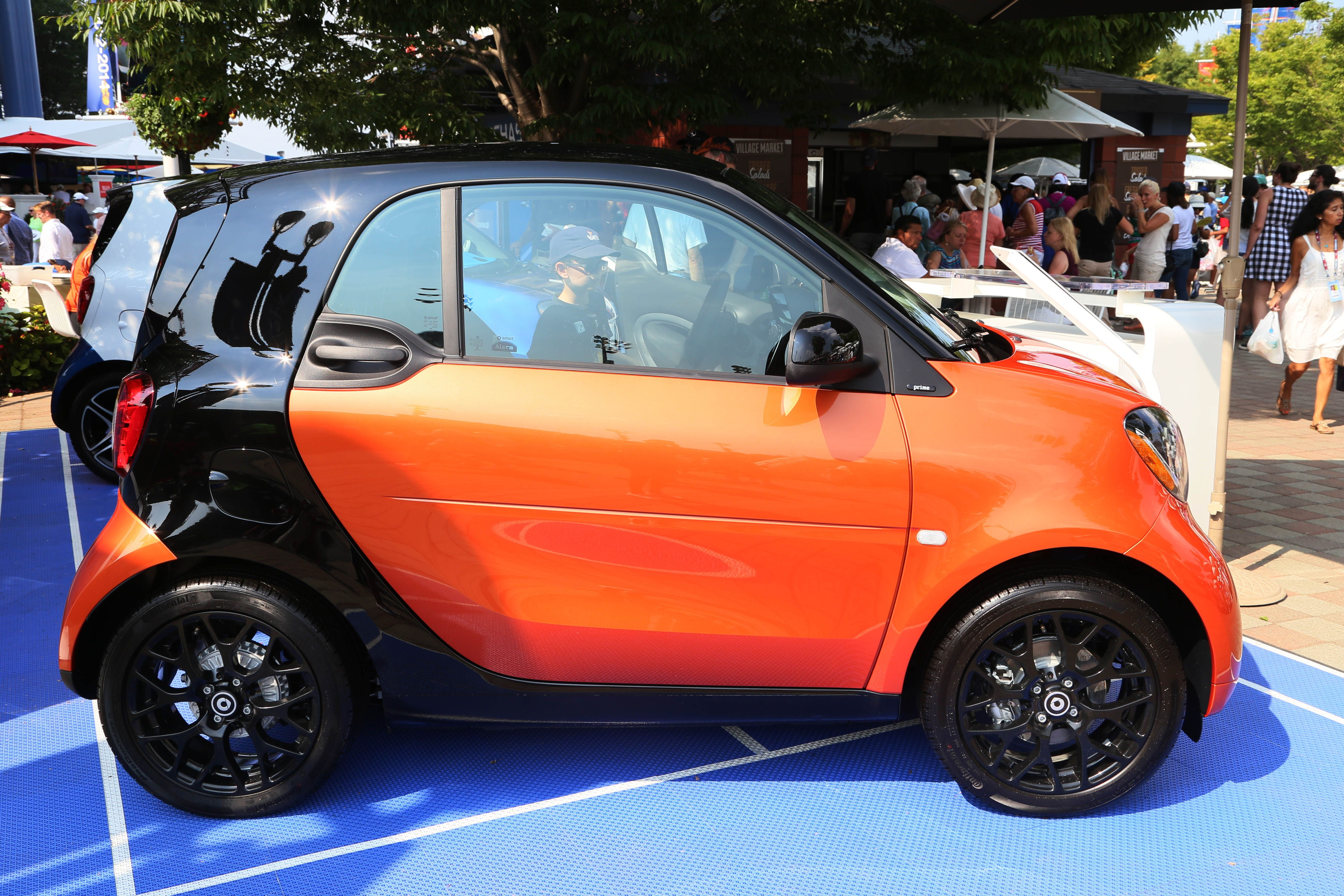 Thankfully Our 2016 Smart At The Us Open Has Room Fortwo