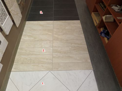 Side showroom along wall to handicap door pic 35 1 for Florida tile mingle price