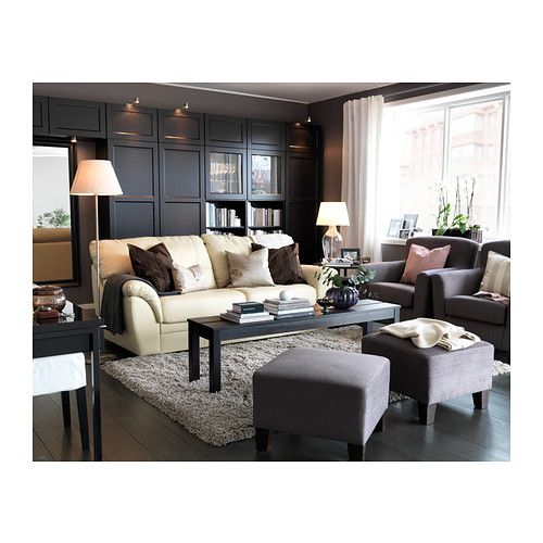 Small High Impact Decor Ideas: IKEA Living Room / Featured In Room: OLLSTA Shade, Beige (IKEA) (shade: 20% Linen, 80% Polyester